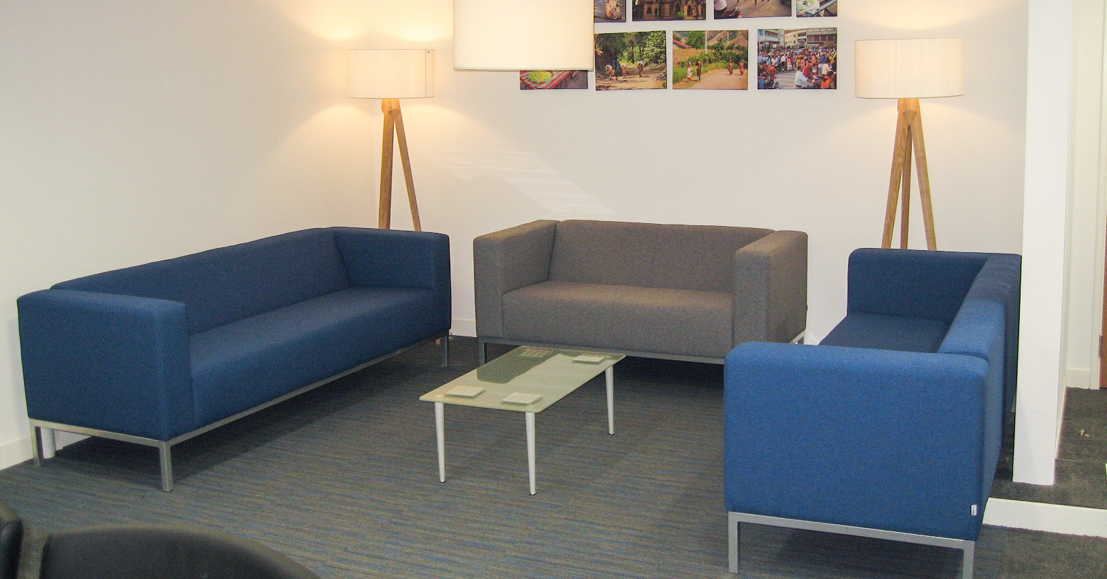 PMC Retail sofa meeting space