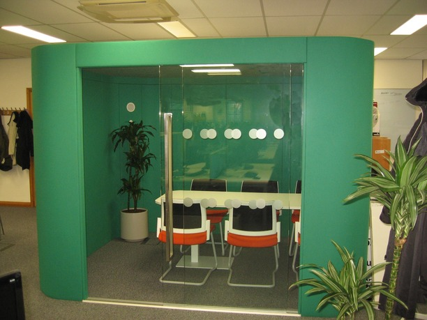 Three Rivers District Council acoustic 6 person pod