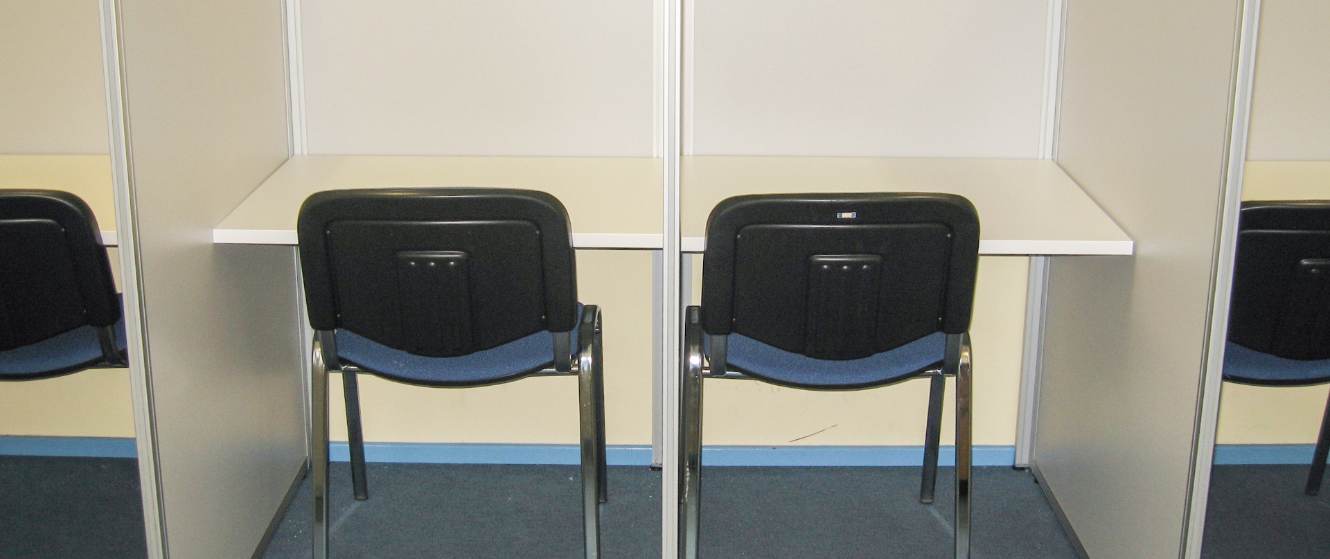 Queens School study booths