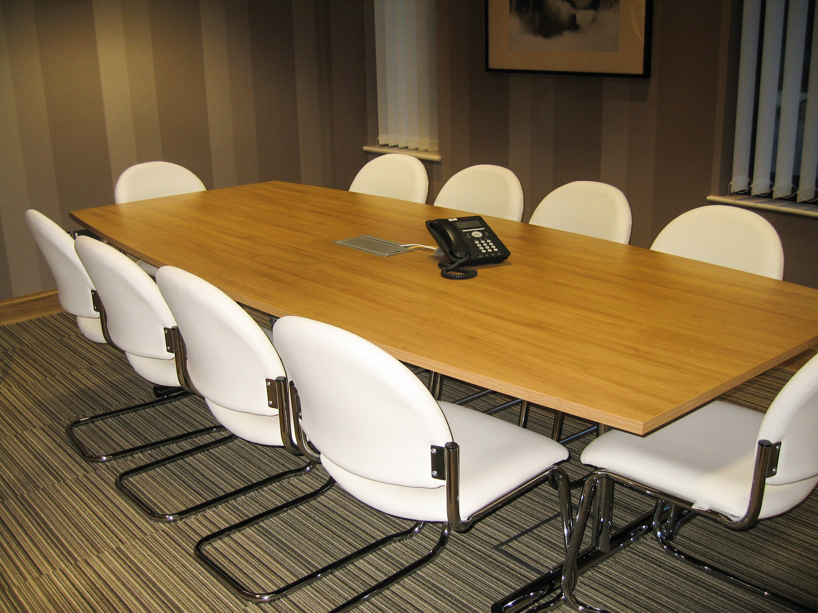 Ridgeway Health Care meeting table with chairs